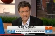 Clint Paddison on TV